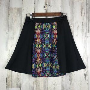 Olsenboye | Colorful Retro Skirt NWT